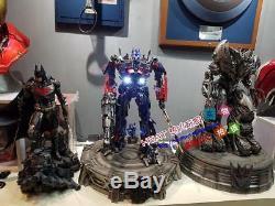Chaude P1s Transformateurs Sombre De La Lune Statue Optimus Prime Ex Refast En Stock