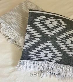 Couverture Turque Pour Couette Et Lit De Haute Qualité 100% Pur Coton Turc 190cm X 220cm