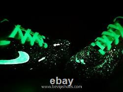 Custom Nike Air Force 1 Faible Uv Glow Dans L'obscurité La Meilleure Qualité