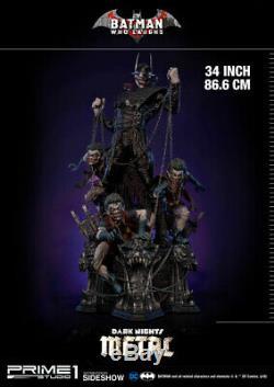 DC Comics Batman Dark Nights Qui Rit Statue Métal Prime 1 Studio