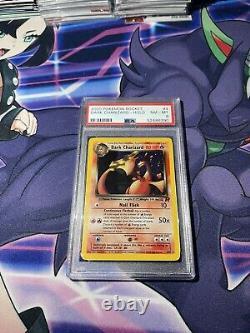 Dark Charizard #4/82 Holo 2000 Pokemon Card Team Rocket Wotc Psa 8 Nm-mt