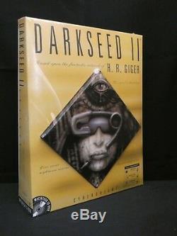 Darkseed II Dark Seed 2 Version Mac Nouveau Trapezoid Big Box Qualité Musée
