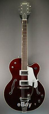 Demo Gretsch G6119t-62 Vintage Select'62 Tennessee Rose Cerise Foncé Tache 62