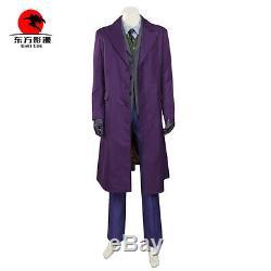 Dfym De Haute Qualité Halloween Costume Batman The Dark Knight Rises Joker Cosplay