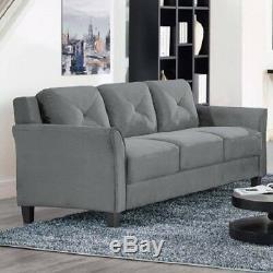 Durable Lifestyle Solutions Sofa De Haute Qualité Gris Foncé