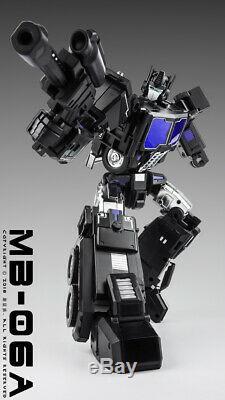En Stock Transformateurs Ventilateurs Hobby Mb-06a Puissance Baser Noir Optimus Prime