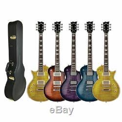 Esp Ltd Ec256fm Guitare Électrique Gratuitementc Case Choisissez Votre Couleur