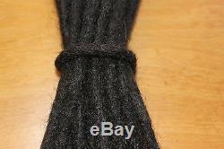 Extension De Dreadlock De Cheveux Humains De 50 X 12 Pouces Dreads De Haute Qualité D'épaisseur Moyenne