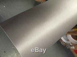 Film De Pellicule De Vinyle Pour Voiture En Aluminium Brossé De Haute Qualité