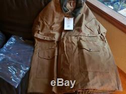Filson 11010001 Tin Packer Standard De Grande Taille Robe Dark Tan Nwt 1ère Qualité