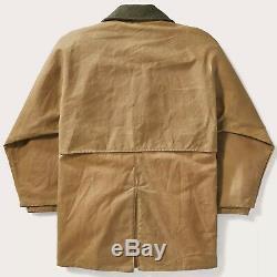 Filson Tin Tissu Packer Manteau Foncé Tan Deuxième Qualité, M Tn-o Pdsf Men 450 $
