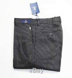 Fonz Ferroni Pantalon Laine Qualité Alors Salut Ressenti Soie Incroyable Taille 36/33 Fonz Florenc