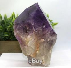 Grand Cristal De Qualité Aaa Amethyst Point, Cristal Violet Foncé, 8.60 Lb (ap28) E
