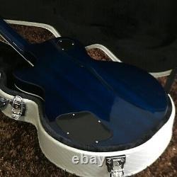 Guitar Store Standard Guitar Électrique De Haute Qualité Dark Blue Livraison Rapide