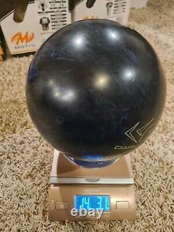 Hammer Dark Legend Solid 1ère Qualité Veuve Bowling Ball 14 Livres 2 Broche
