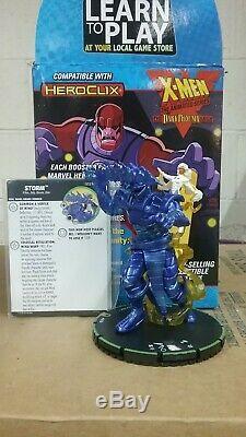 Heroclix X-men Série Animée Saga Phénix Sombre G023b Tempête Premier Super Rare
