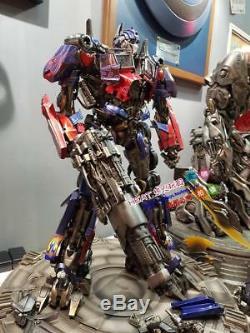 Hot P1s Transformateurs Cachée De La Lune Optimus Prime Ex Refonte Statue En Stock