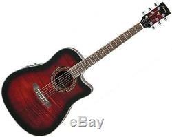 Ibanez Pf28ece Cutaway Acoustic Guitare Électrique Choisissez Votre Couleur