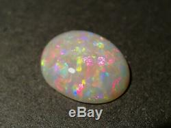 Incroyable Gem Solid Quality Dark Crystal Opal Australie Lightning Ridge 2,5 Cts