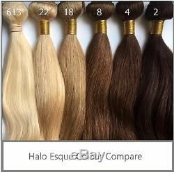 Instaglam One Piece Clip Dans Les Extensions De Cheveux Humains Remy 20 Longues De Haute Qualité