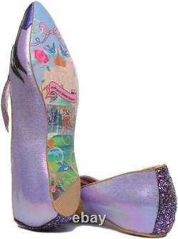 Irregular Choice Dark Vs Light Womens Pointed Flat Shoes In Multi Uk Taille 3 7