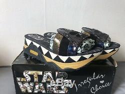 Irrégulier Wars Star Choice Dark Lord Chaussons Chaussures 41 / 7.5 Bnib Darth Vader Side