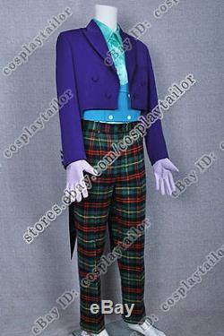 Joker Cuisinier Costume Smoking Costume Cosplay Grande Qualité Cool Mode Violet Foncé