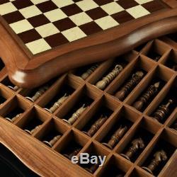 Kadun Handmade Chess Calvert Noir Conseil De Haute Qualité Board Game Gift Vip