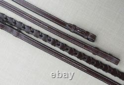 Kl Sélectionner Red Barn Fancy Stitched Laced Reins