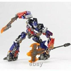 Légalité Des Transformateurs De Révoltech Optimus Prime Action De L'aile À Réaction Figure
