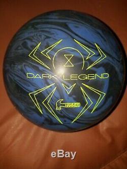 Marteau 15lb Dark Legend Boule De Bowling Solide 1ère Qualité Nib