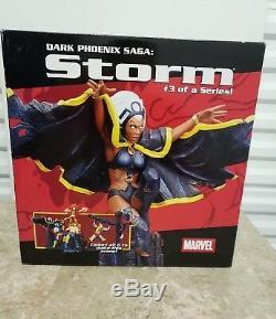 Marvel Diamond Select Statue De Storm Saga Phoenix X-men Dark Saga Basse # 44/3000 Nouveau
