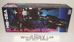 Mb-06a Black Power Baser Noir Optimus Prime Transformateurs De Nouveaux Fans Hobby