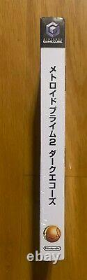 Metroid Prime 2 Dark Echoes Nintendo Gamecube Japon Nouveau! Scellé Gc Rare