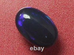 Motif De Couleur De Roulement Foncé De Bonne Qualité Opal Noir Massif Naturel 1,8 Carat