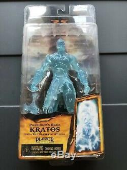 Neca Kratos Dark Odyssey / Poseidons Rage Player Sélectionnez God Of War II 2010 Scellé