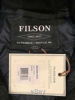 New Filson Veste Matelassée Mile Marker Pour Homme L Large $ 450 Qualité 1st Made In USA