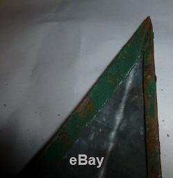 New Style Rustique Amish Véritable Primitivisme 64 Inch Barn Star USA Assombrissaient Green