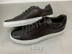 Nib Hugo Hommes Patron T-timaker Brun Foncé Italien Chaussures Cuir De Veau 50310875 202