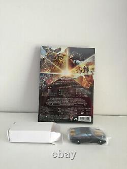 Nib Takara Film Transformers Optimus Prime Autobot Noir + DVD Dans La Boîte Originale