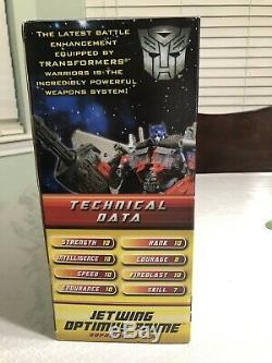 Nib Transformers Movie Dotm Jetwing Optimus Prime Suprême Classe Cachée De La Lune