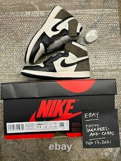 Nike Air Jordan 1 Rétro Og Dark Mocha Taille 11 Tout Nouveau 100% Authentique Aj1