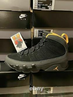 Nike Air Jordan 9 University Gold Dark Charcoal Ct8019-070 Sz 4y-14 2021