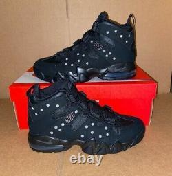 Nike Air Max 2 Cb 94 Barkley Dark Charcoal Triple Noir Dc1411-001 Taille 7.5-10.5