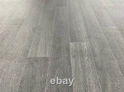 Noir / Bois De Charbon De Bois 3 Planche Vinyle Flooring Quality Lino (rouleau 143) 5.2m X 4m