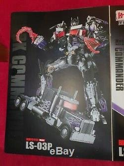 Nouveau Bmb Ls-03p Commander Noir Transformers Movie Masterpiece Nemesis Prime