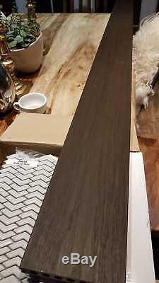 Nouveau Bois Foncé Ou Gris 2400x145x21mm. Decking Composite De Très Haute Qualité
