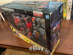 Nouveau Hasbro Transformateurs Dark Of The Moon Jetwing Optimus Prime Amazon Toys R Us