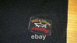 Nouveau Paul & Shark Polo Shirt Navy Blue Taille Grand Superbe Qualité Must See Wow