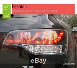 Nouveau Pour Audi Q7 Feux Led 2007-2009 Foncé Ou Led Rouge Arrière Lampes De Qualité